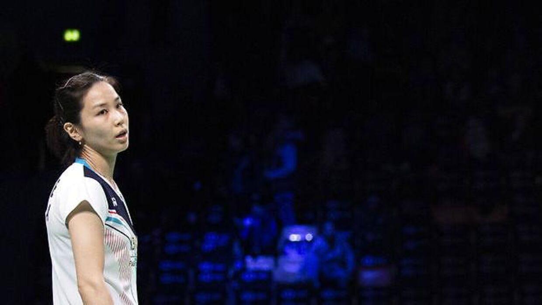 Jung Kyung Eun har nok ikke før oplevet en kamp som den, hun spillede søndag i Odense.