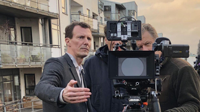 Prins Joachim har været med på lige fod med alle andre, da dokumentaren om danmarkshistorien skulle filmes.