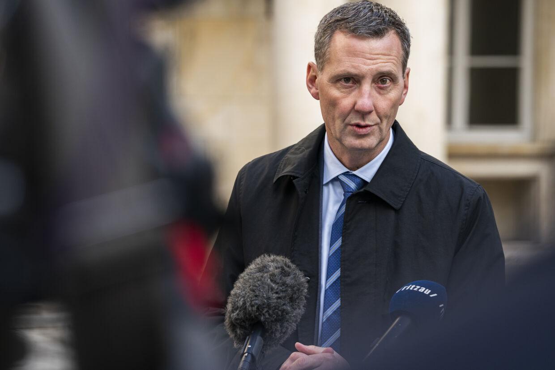 Justitsminister Nick Hækkerup (S) så fortsat gerne, at kontrakten med EasyTranslate blev opsagt. Martin Sylvest/Ritzau Scanpix