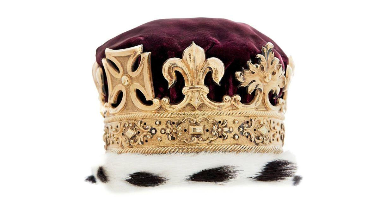 Her ses kronen.