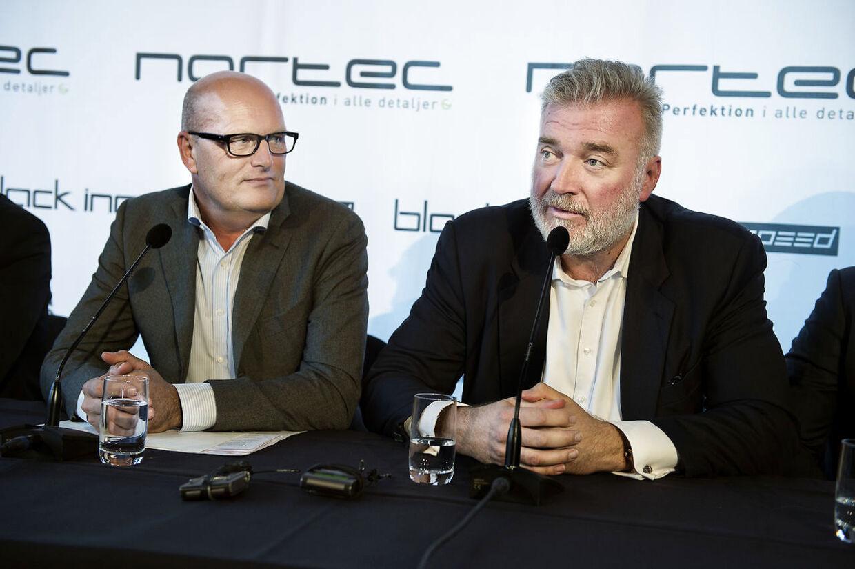 Bjarne Riis og Lars Seier Christensen drømmer om stå i spidsen for et cykelhold ved Tour de France start i Danmark i 2021. Bliver det hold Team Dimension Data?