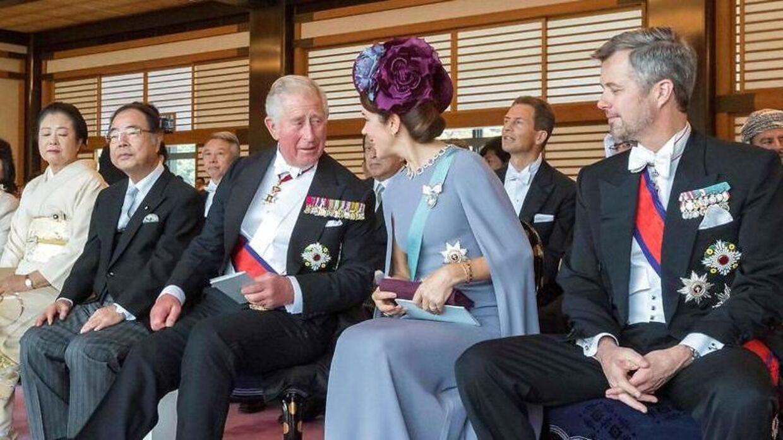 Det var det kongelige A-hold, der var mødt op, da der tidligere på ugen var royal komsammen i Japan.