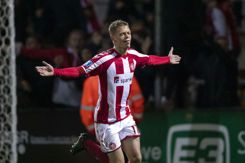 AaB og Kasper Kusk slog Sønderjyske 3-1.
