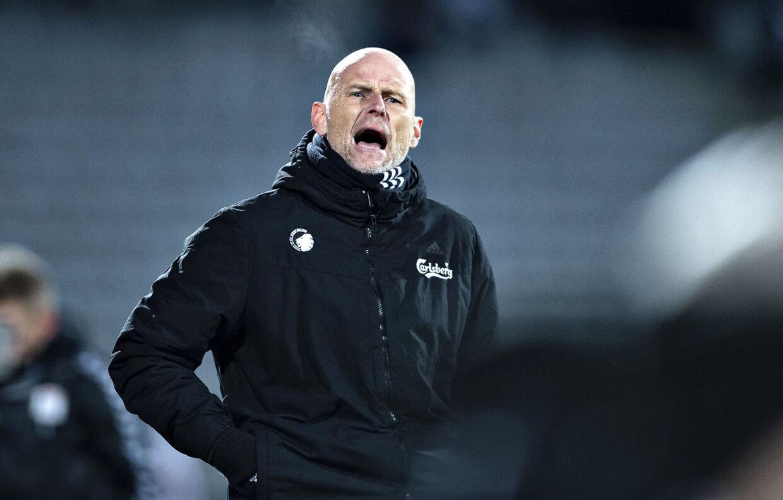 FC Københavns træner Ståle Solbakken.