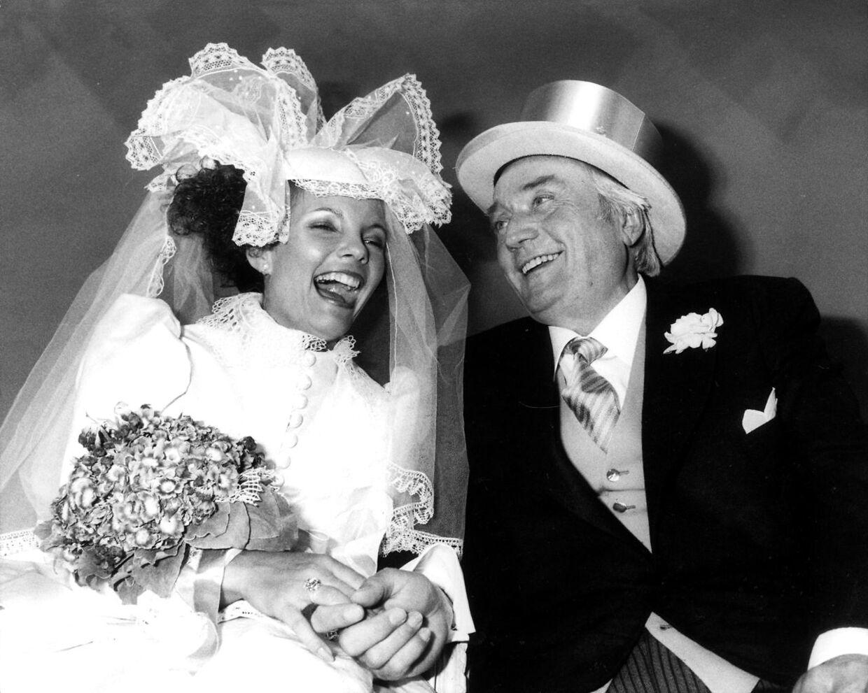 Simon og Janni Spies blev gift den 11. maj 1983.