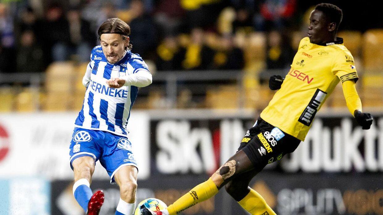 Lasse Vibe forlader Göteborg.
