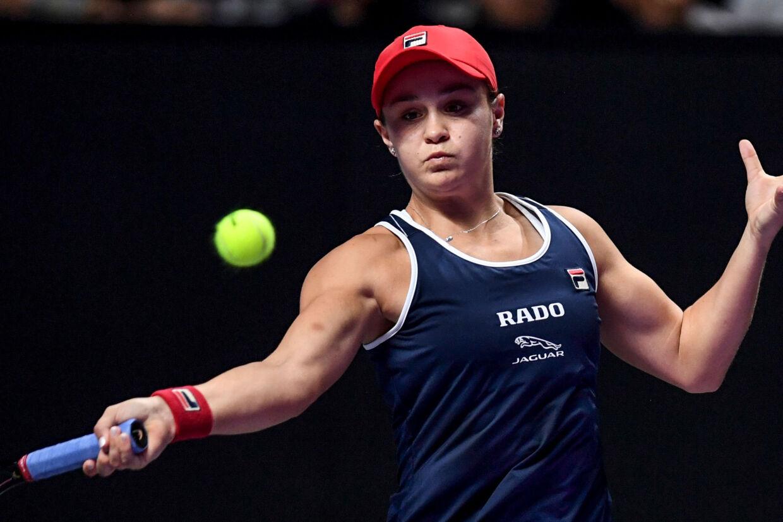 Ashleigh Barty vandt finalen med 6-4, 6-3 over Elina Svitolina fra Ukraine. Noel Celis/Ritzau Scanpix
