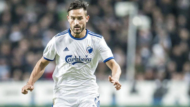 Sotirios Papagiannopoulos havde en svær start i FCK.