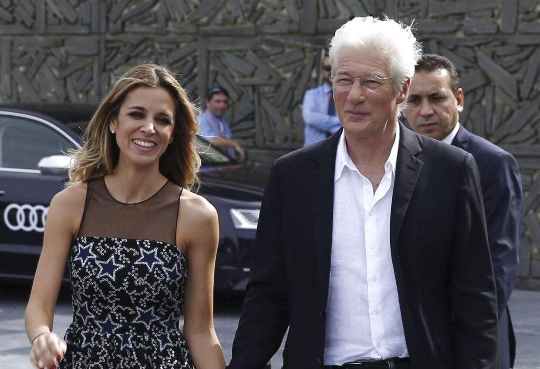 Richard Gere og Alejandra Silva.