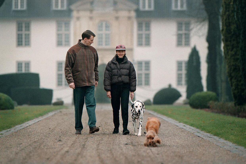 Da prins Joachim blev gift med prinsesse Alexandra, begyndte landmandslivet for alvor.