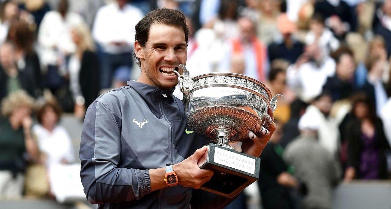Rafael Nadal vandt finalen ved French Open over Dominik Thiem.