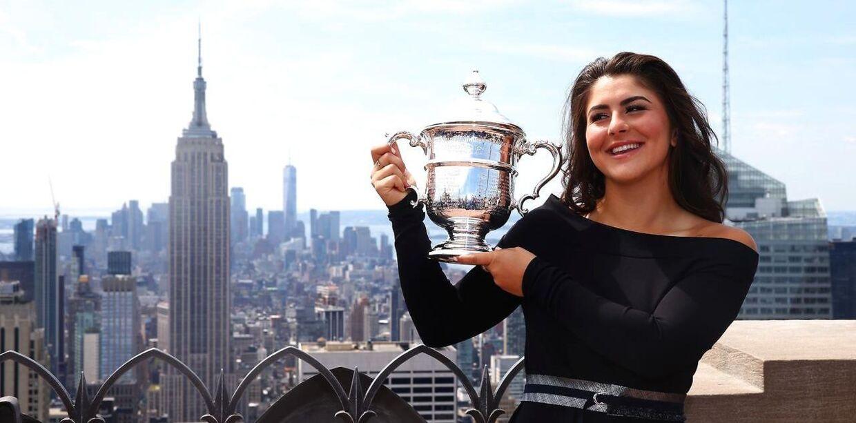 Bianca Andreescu vandt US Open-finalen over Serena Williams.