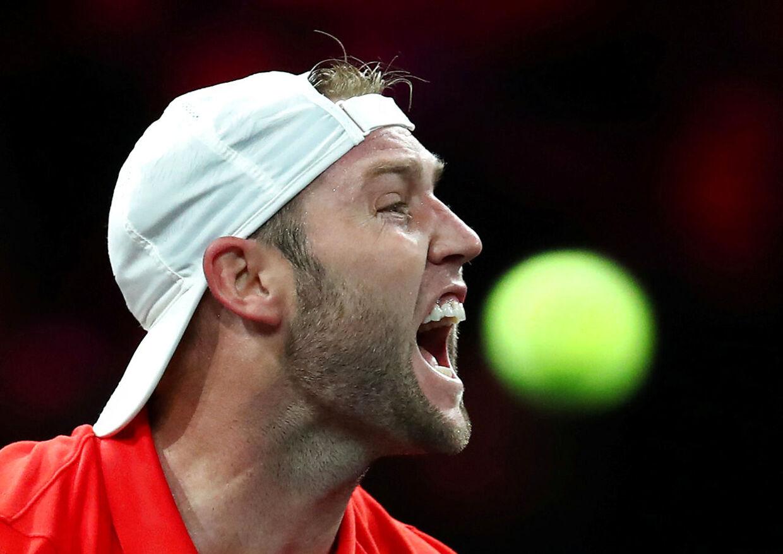 Jack Sock var i 2017 semifinalist ved ATP Finals i London.