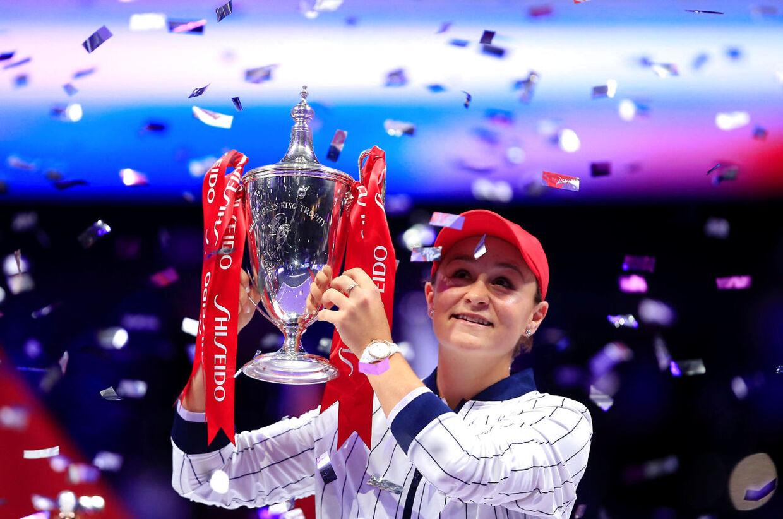 Ashleigh Barty vandt finalen i damesingle ved WTA Finals i Kina over Elina Svitolina.