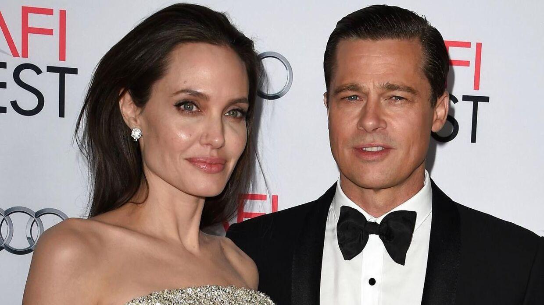 Angelina Jolie og Brad Pitt gik offentligt med deres brud i 2016.