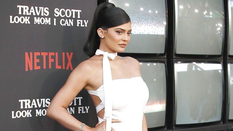 Kylie Jenner har sammen med Travis Scott datteren, Stormi, på et år.