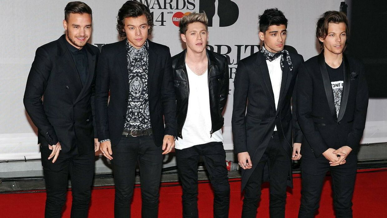 Liam Payne er blandt andet kendt fra banden One Direction. Bandet gik i opløsning i 2015. Fra venstre Liam Payne, Harry Styles, Niall Horan, Zayn Malik og Louis Tomlinson.