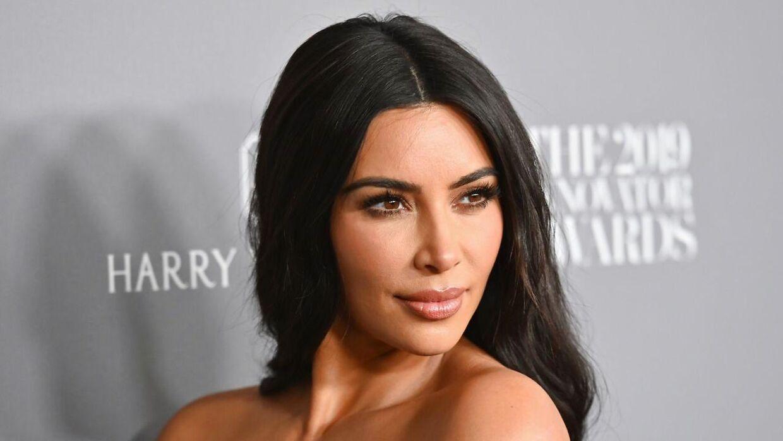Kim Kardashian West glæder sig til likes forsvinder fra Instagram. (Photo by Angela Weiss / AFP)