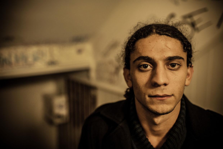 Digteren Yahya Hassan udgiver fredag en ny digtsamling. Han er i øjeblikket indlagt. (Arkivfoto) Søren Bidstrup/Ritzau Scanpix