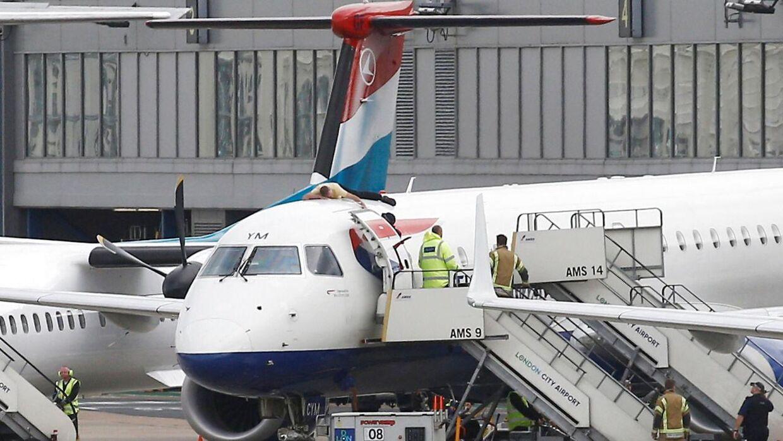 Der er sket en hændelse på et British Airways-fly, der fløj fra Budapest til London Heathrow.