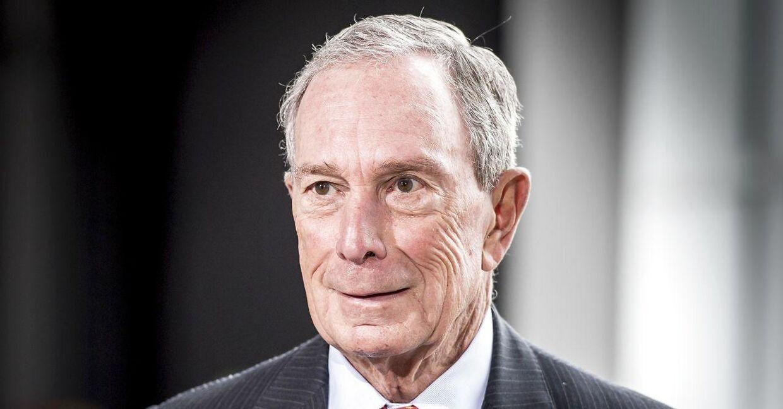 (ARKIV) New Yorks tidligere borgmester og FN's generalsekretærs særlige udsending på klimaområdet, Michael R. Bloomberg.