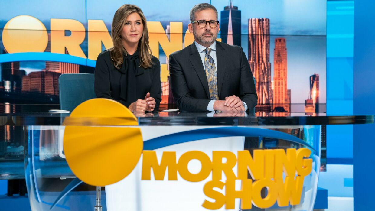 'The Morning Show' har Jennifer Aniston, Steve Carell, og Reese Witherspoon i hovedrollerne.