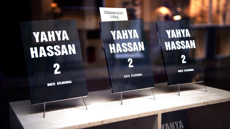 """Yahya Hassans anden digtsamling siden debuten """"Yahya Hassan"""" i 2013, fotograferet hos Gyldendal i København, fredag den 8. november 2019."""