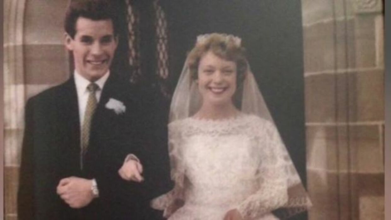 Dennis og Mavis Eccleston nåede at være gift i 60 år.