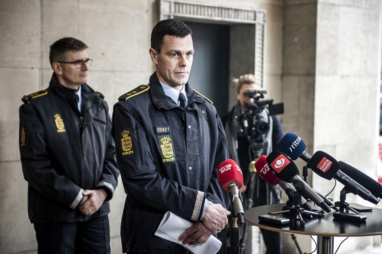 Arkivfoto. Vicepolitiinspektør Brian Belling, leder af afdeling for personfarlig kriminalitet ved Københavns Politi. (Foto: Celina Dahl/Scanpix 2019)