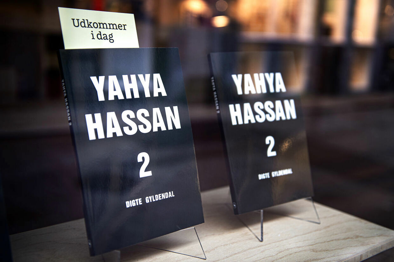 "Yahya Hassans anden digtsamling siden debuten ""Yahya Hassan"" i 2013, fotograferet hos Gyldendal i København, fredag den 8. november 2019.. (Foto: Ida Guldbæk Arentsen/Ritzau Scanpix)"