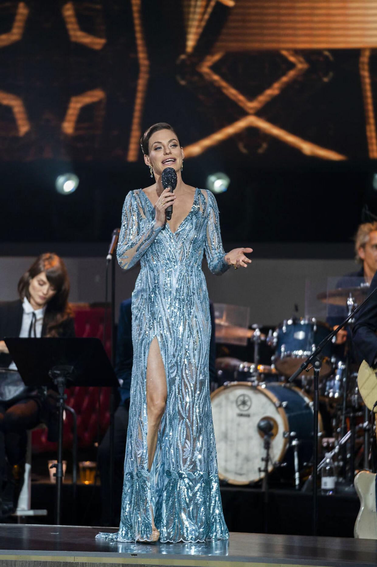 sendxnet. Sarah Grünewald. 'Vild med dans' program 9, sæson 16 på TV2, fredag den 8. november 2019. (foto: Martin Sylvest/Ritzau Scanpix 2019)