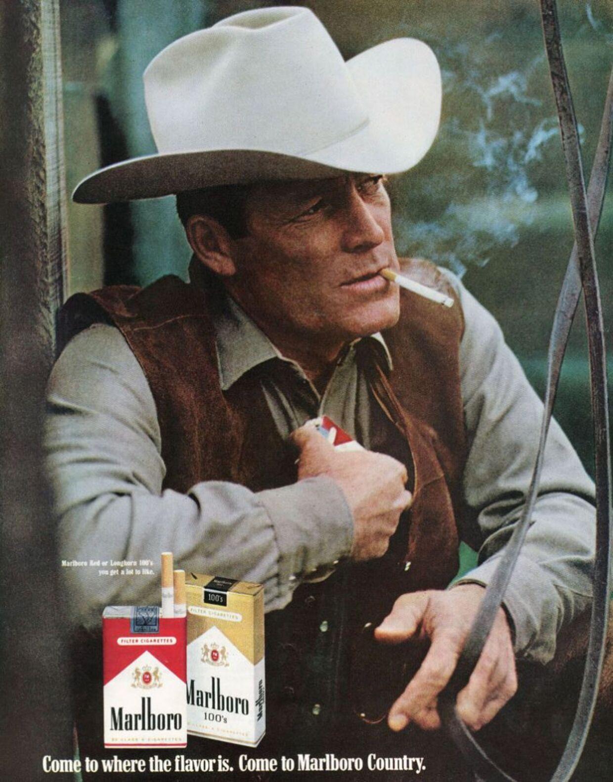 I 14 år var Robert 'Bob' Norris ansigtet for Marlboro udadtil.