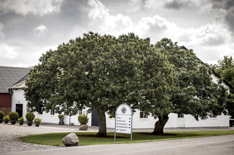 Kragerup Gods ved Ruds Vedby på Vestsjælland. Arkivfoto