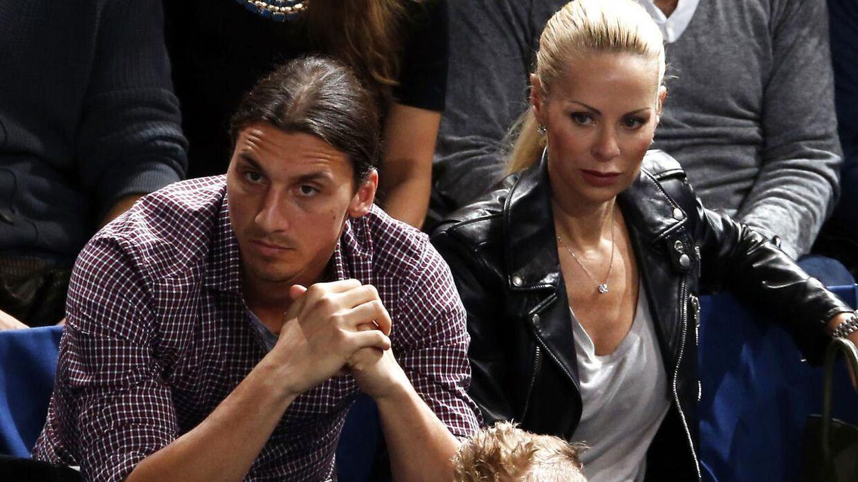 Zlatan Ibrahimovic er gift med den svenske model Helena Seger.
