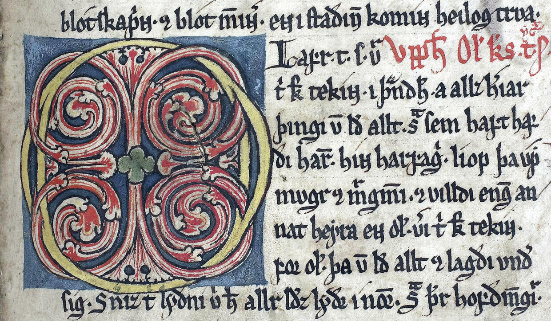 Håndskrifter fra Den Arnamagnæanske Samling.