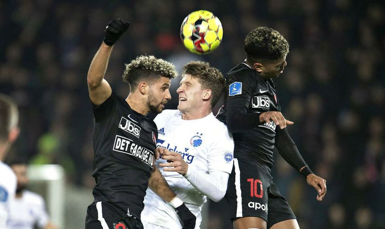FC Midtjylland dominerede FC København søndag aften.