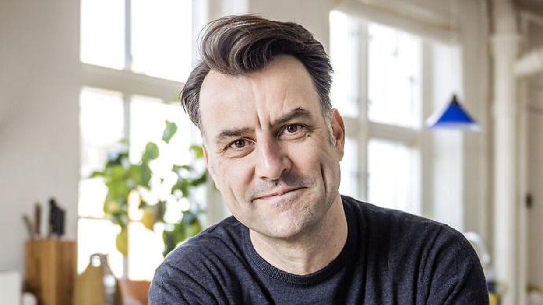 Nyhedsvært, foredragsholder og forfatter Mikael Kamber.