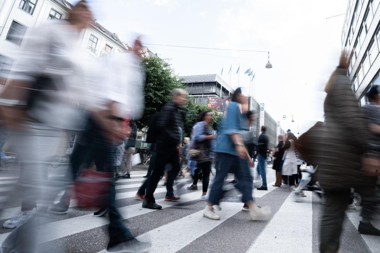En befolkningstilvækst i København og i hovedstadsområdet har været med til at øge det samlede befolkningstal på Sjælland. (Arkivfoto) Niels Christian Vilmann/Ritzau Scanpix