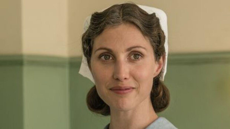Katrine Greis-Rosenthal i 'Sygeplejeskolen'.