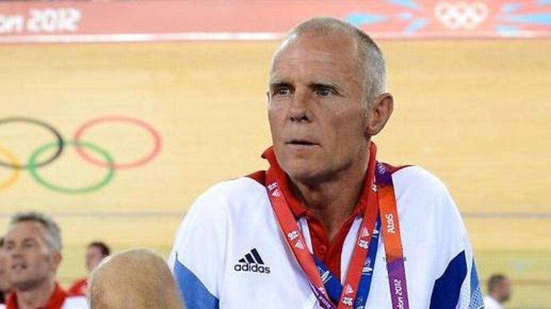 Her ses Shane Sutton til OL i London 2012.