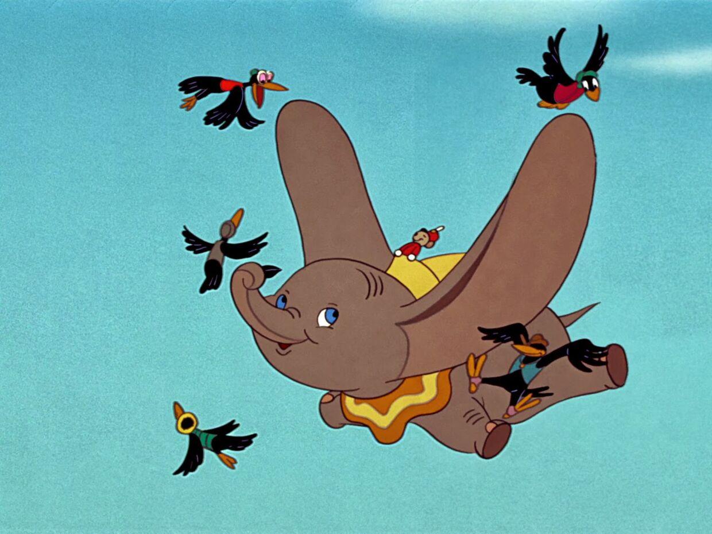 Dumbo og de kontroversielle krager.