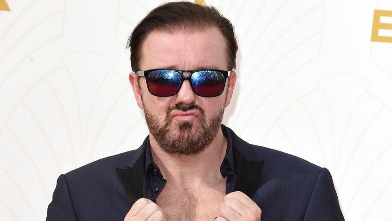 Ricky Gervais bliver vært for femte gang ved Golden Globes 5. januar. Det bliver prisuddelingens 77. udgave.
