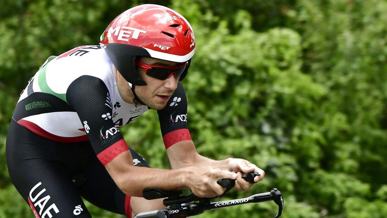 Den kroatiske UAE-rytter Kristijan Durasek er røget i dopingfælden.