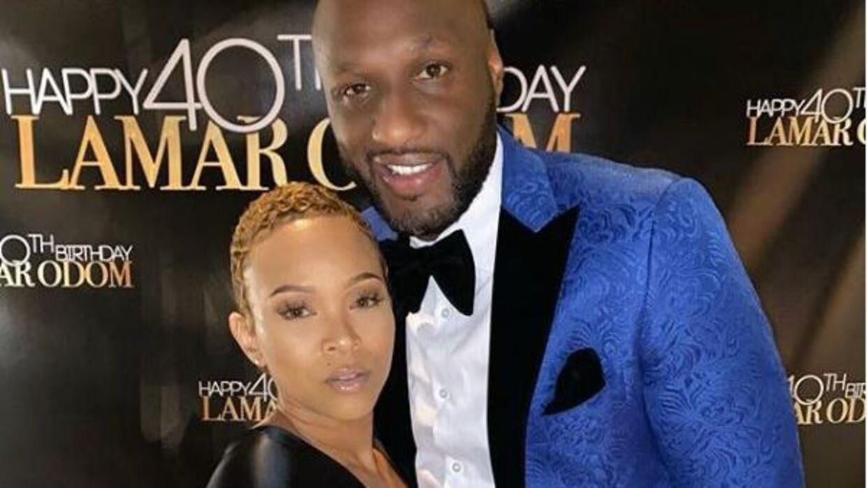 Lamar Odom blev for nylig fejret af kæresten Sabrina Parr, da han fyldte 40 år.