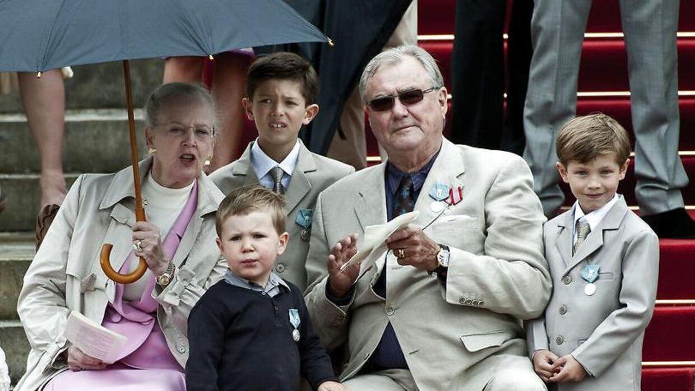 Det var velkendt, at det var den nu afdøde prins Henrik, der var den hyggelige bedsteforældre for de royale børn.