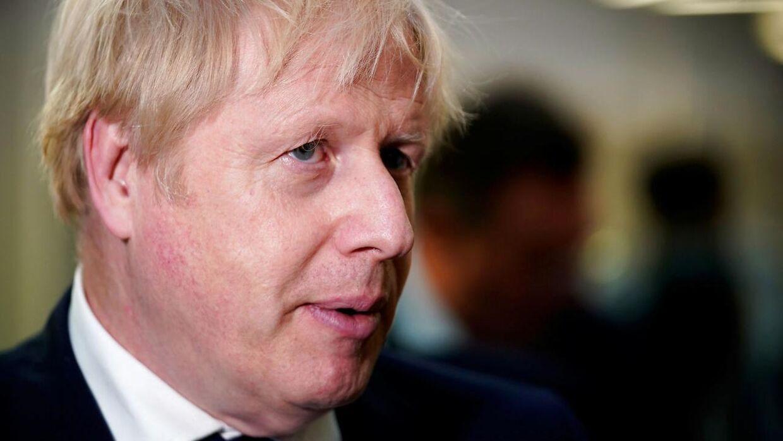 (ARKIVFOTO) Jennifer Arcuri anklager Boris Johnson for at have knust hendes hjerte.