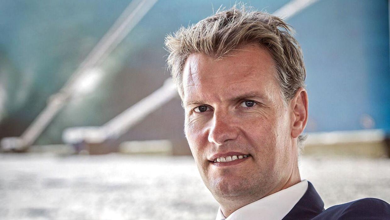 Søren Toft, der er vicepræsident og COO i Mærsk, skifter til ærkerivalen MSC. Arkivfoto.