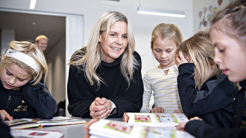 Conny Hamann-Boeriths arbejder i dag som lærer på 'Guldminen' i Ikast.