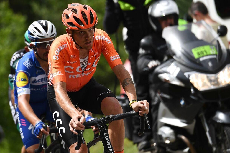 Alessandro De Marchi under Criterium du Dauphiné i år.