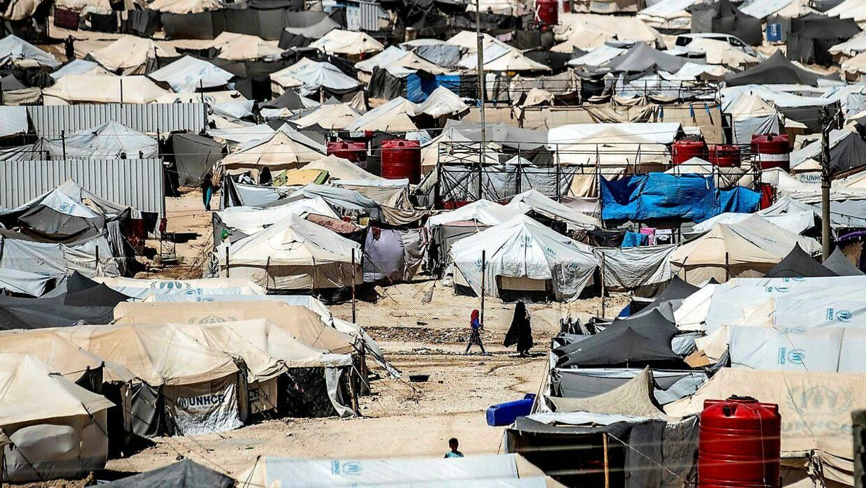 Sønnen af en afdød dansk-somalisk kvinde, der har været en del af IS, er på vej til Danmark, erfarer Ritzau. Drengen har opholdt sig i al-Hol-lejren i Syrien. Det skriver Ritzau, torsdag den 21. november 2019.. (Foto: DELIL SOULEIMAN/Ritzau Scanpix)